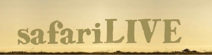 SafariLIVE banner
