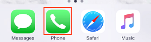 iOS Phone app icon