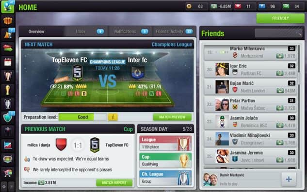 Top Eleven: Be a Football Manager screenshot