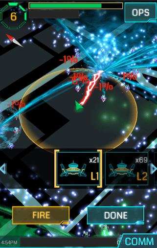 Screenshot of Ingress game