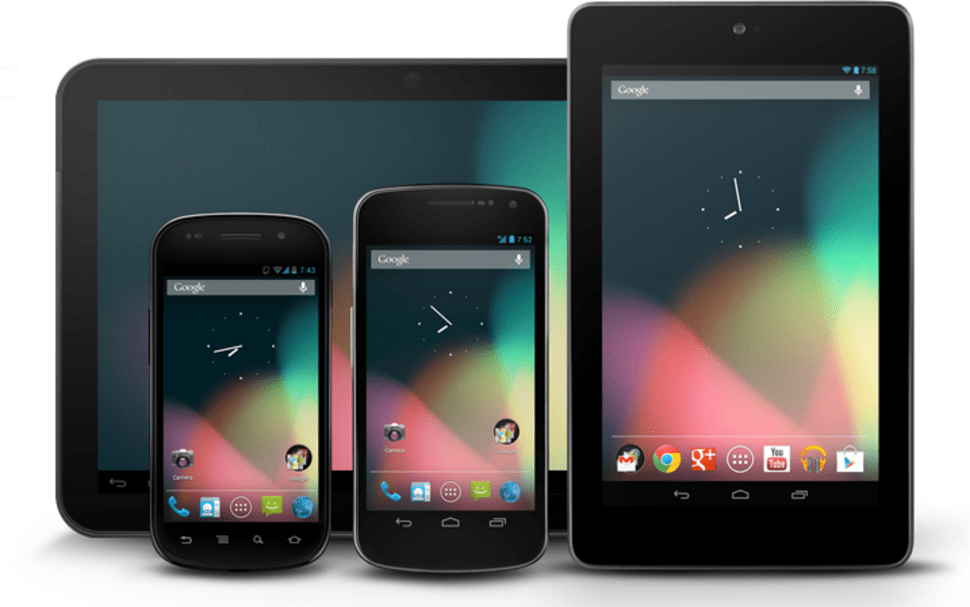 Mobile devices that run Android