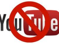 How to Block YouTube header