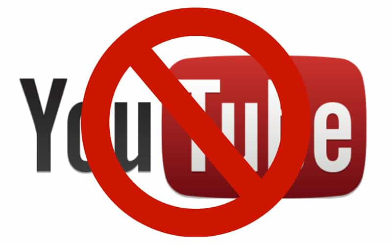 How to Block YouTube header