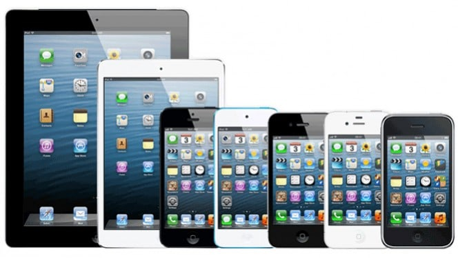 iPads, iPhones, and devices that run iOS