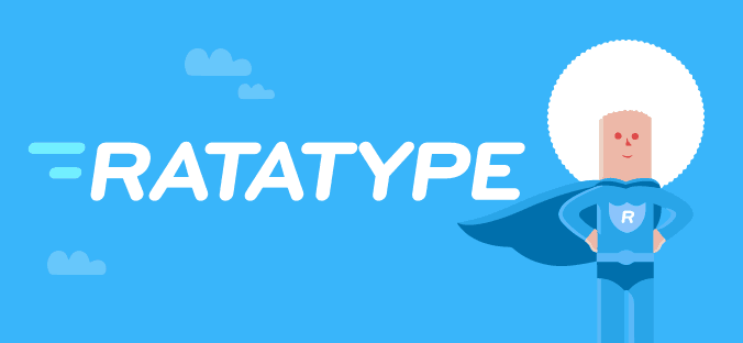 Logo for Ratatype