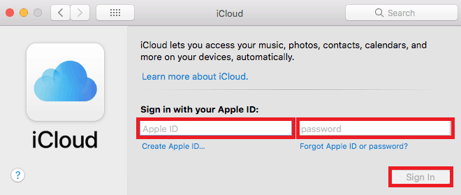 Reconnect a device to your Apple ID