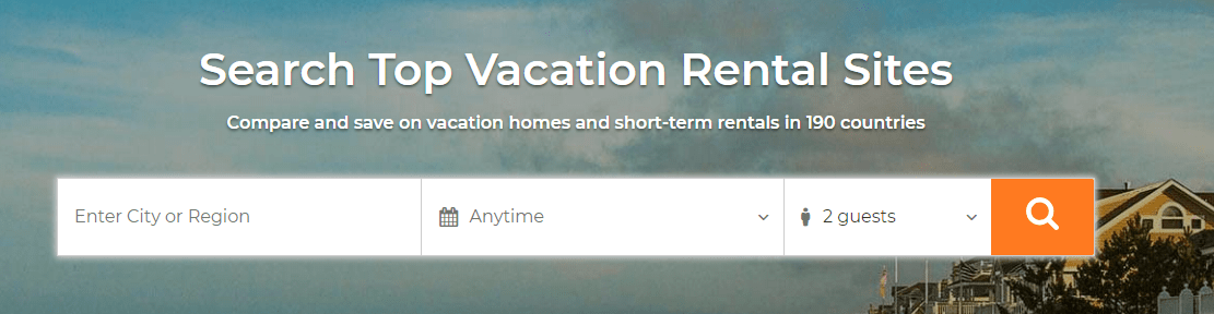 Searching for rental information on Tripping.com