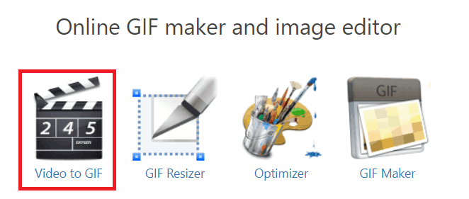 Convert a video to a GIF