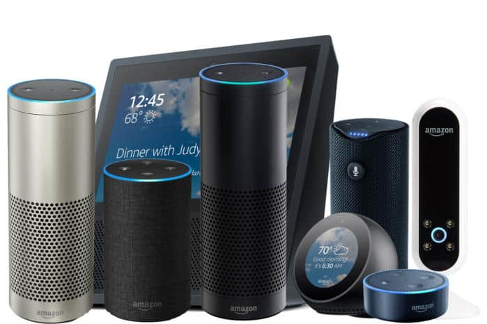 Amazon devices that include Alexa