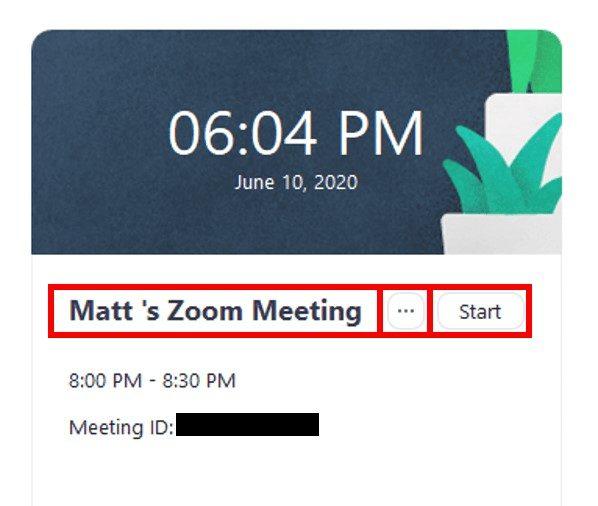 Desktop client upcoming meetings