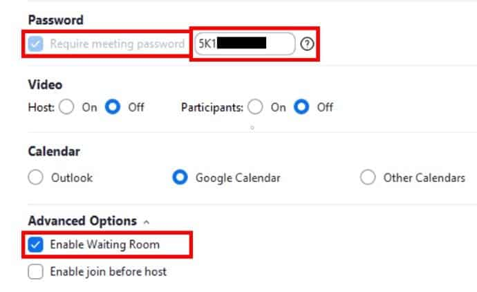 Zoom security settings to keep your meeting safe
