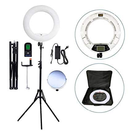 Yidoblo 18 inch ring light with stand