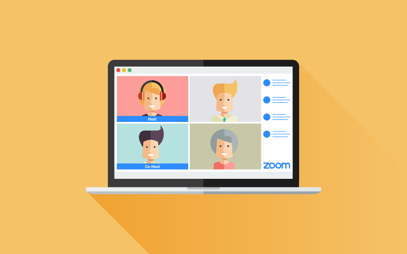 Assign a Zoom co-host