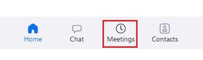 View upcoming and recorded Zoom meetings in the desktop app