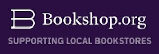 book shop logo on purple background