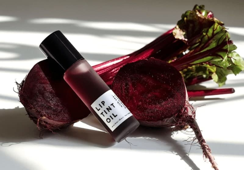 lip tint oil with beets