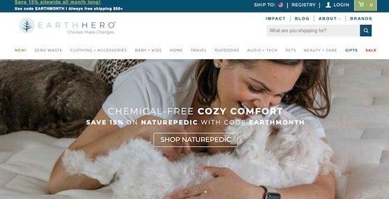 EarthHero homepage