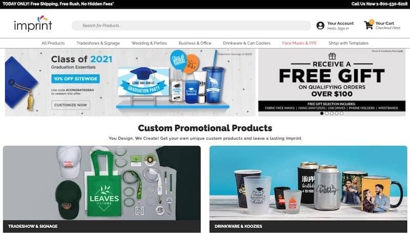 Imprint homepage