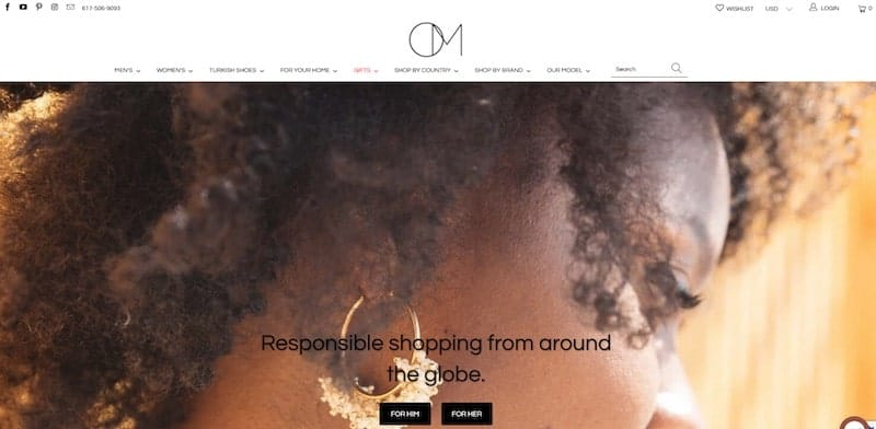 Ocelot Market homepage