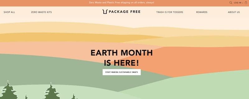 Package Free homepage