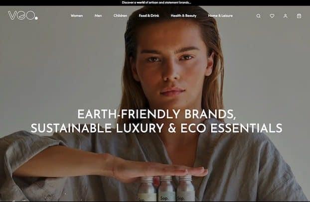 Veo homepage